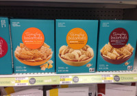 Target Simply Balanced gluten free crackers