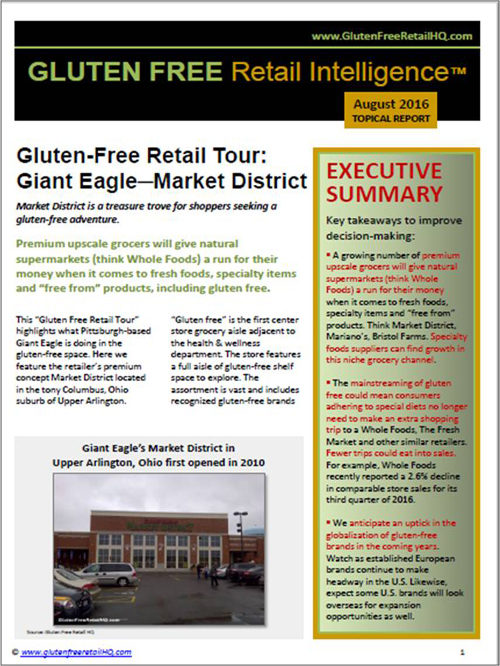 Giant Eagle Market District Gluten Free Retail Tour